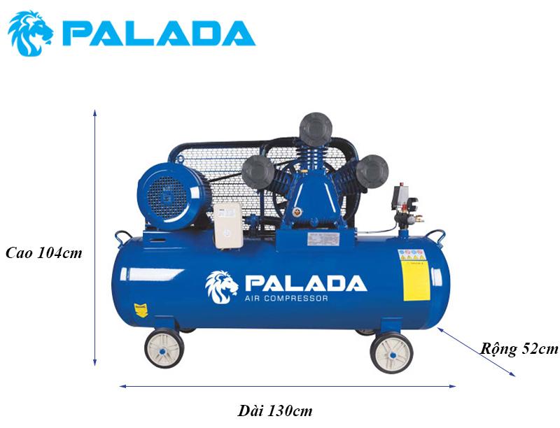 Máy nén Palada FA-100170 được thiết kế nhỏ gọn nên dễ di chuyển