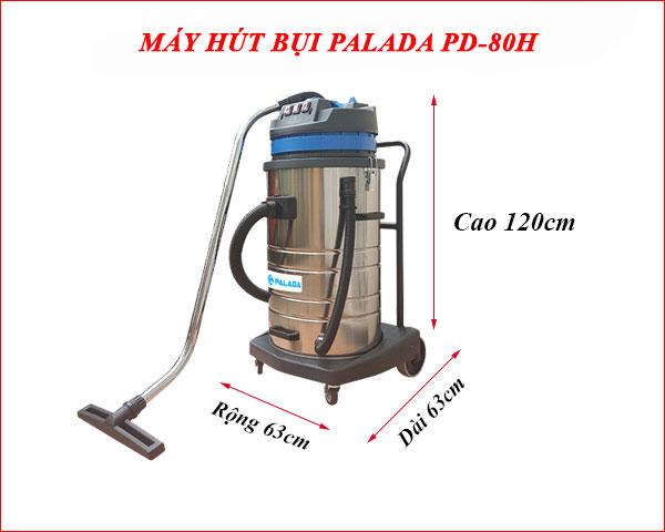 Máy hút bụi PD80H có tính năng