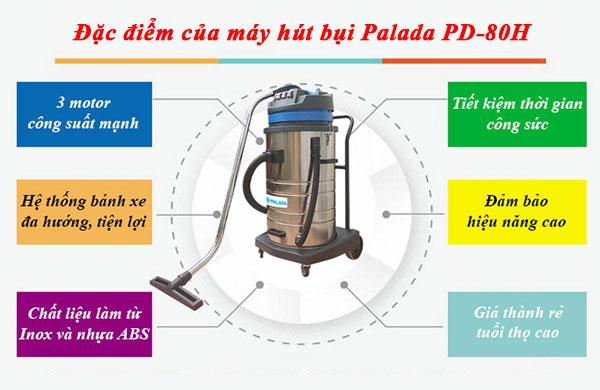 Những công việc thường ngày của máy hút bụi PD80H