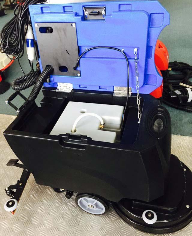 Mặt trong máy chà sàn liên hợp Palada PD 50D