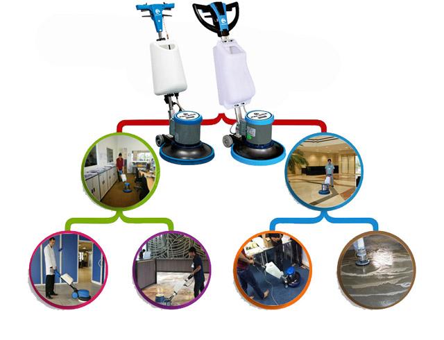 Khả năng làm sạch của máy có thể ứng dụng ở mọi nơi
