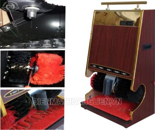 Máy đánh giày với thiết kế và tính năng hiện đại cho hiệu quả làm sạch cao