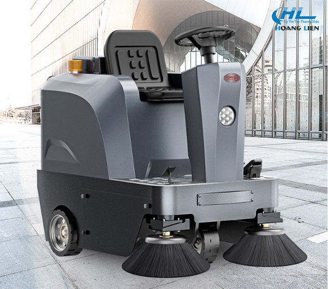 Xe quét rác ngày càng được sử dụng phổ biến tại nhiều đơn vị, thành phố