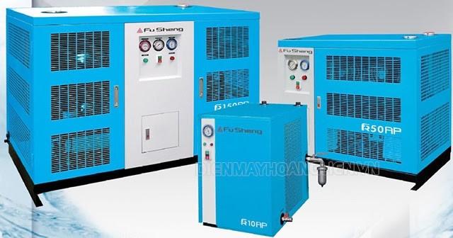 Máy sấy khí Fusheng được sản xuất tại Việt Nam theo công nghệ Đài Loan