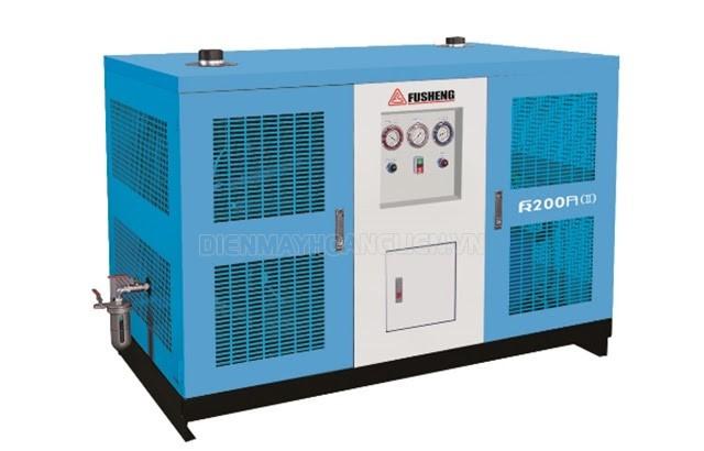 Máy sấy kiểu làm lạnh phù hợp các hệ thống khí nén vừa và nhỏ