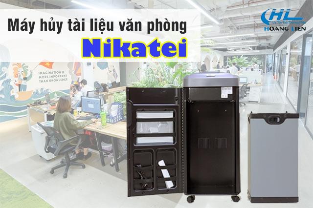 máy hủy tài liệu Nikatei