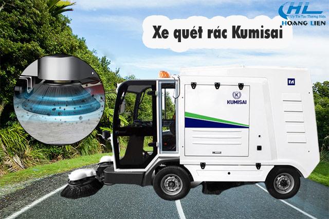 xe quét rác Kumisai