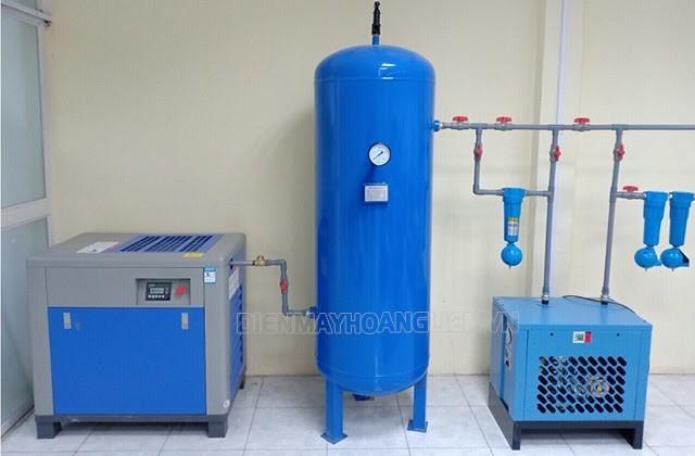 Máy sấy trong hệ thống khí nén
