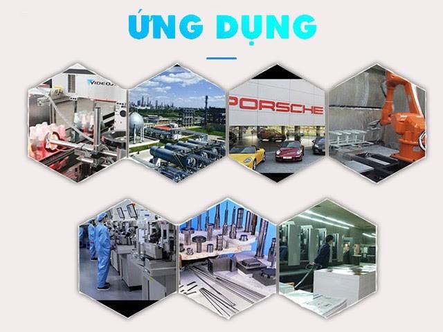 Máy sấy khí giải nhiệt gió được ứng dụng trong rất nhiều lĩnh vực