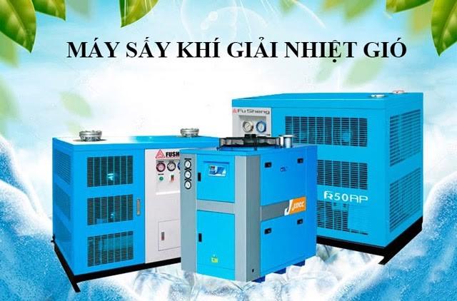 Máy sấy khí giải nhiệt gió là gì?