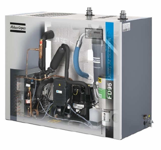 Máy sấy khí làm lạnh có khả năng vận hành tốt