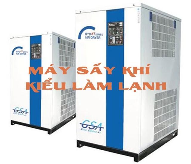 Tìm hiểu chi tiết về máy sấy khí tác nhân làm lạnh