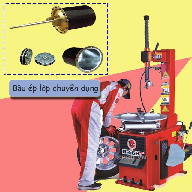 Bầu ép lốp chuyên dụng