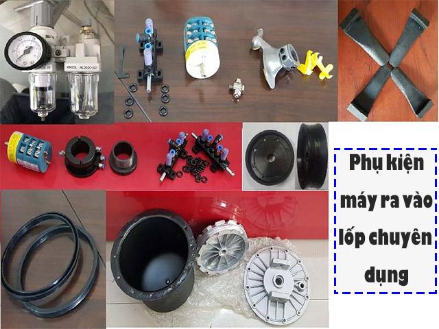 Phụ kiện máy ra vào lốp là gì? Tầm quan trọng của phụ kiện