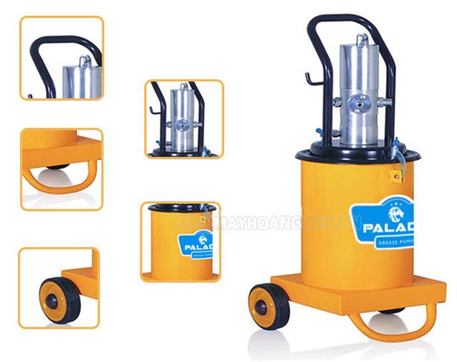 Cấu tạo  máy bơm mỡ Palada