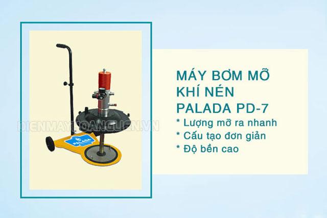 Máy bơm mỡ Palada PD-7