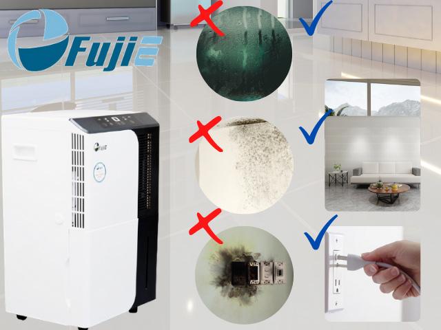 máy hút ẩm fujie bảo vệ sức khỏe