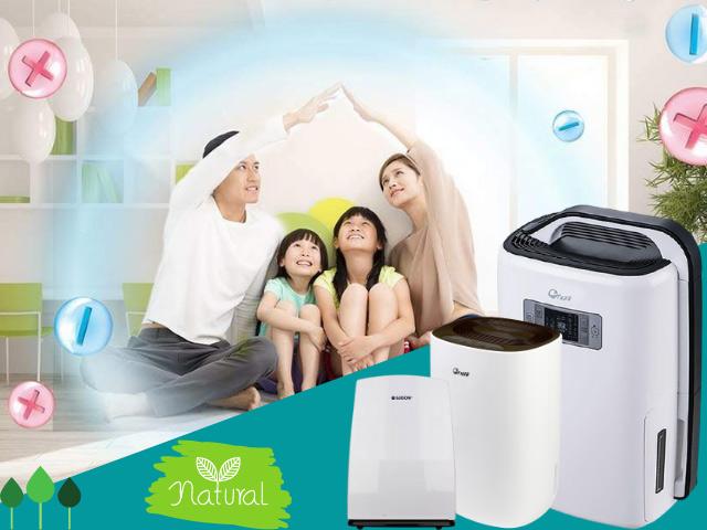 máy hút ẩm gia đình chức năng lọc không khí