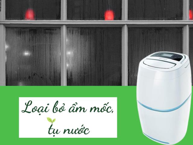 máy hút ẩm không khí gia đình
