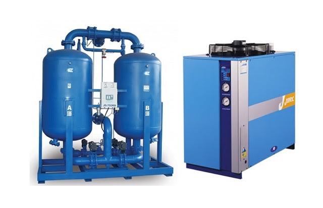 Hệ thống máy sấy khí nén hấp thụ