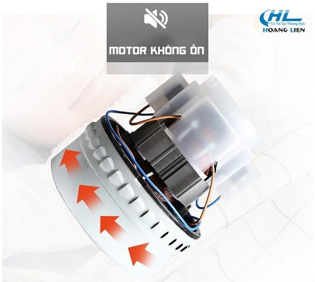 Motor mạnh mẽ, không ồn với độ bền cao