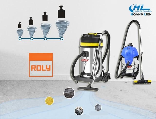 Máy hút bụi Roly - thiết bị vệ sinh ưu việt