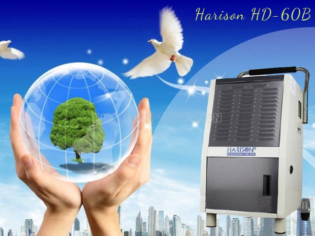 Máy hút ẩm Harison HD-60B kết hợp lọc không khí