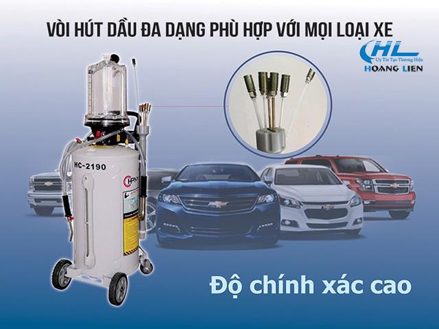 máy hút dầu thải xe máy, ô tô
