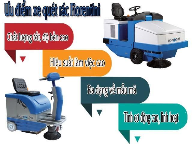 Ưu điểm xe quét rác thương hiệu Eureka
