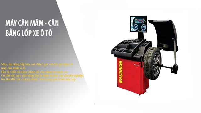 Tìm hiểu máy cân bằng lốp