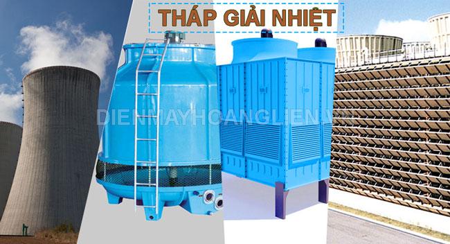 nước dùng cho tháp nước giải nhiệt