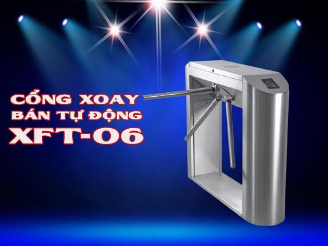 cổng xoay bán tự động XFT-06