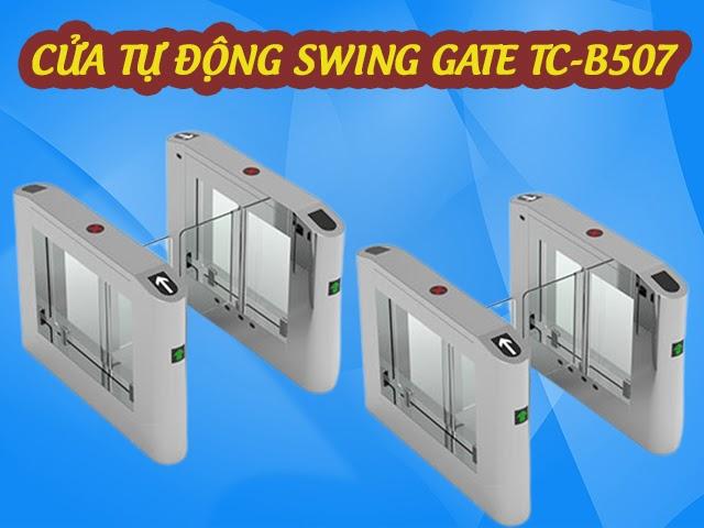Cửa tự động mở Swing Gate TC-507