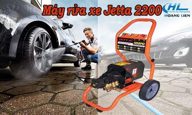 Model máy xịt rửa xe Jetta 2200