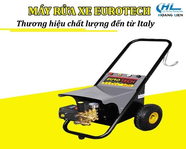 Máy bơm rửa xe Eurotech xuất xứ Italy