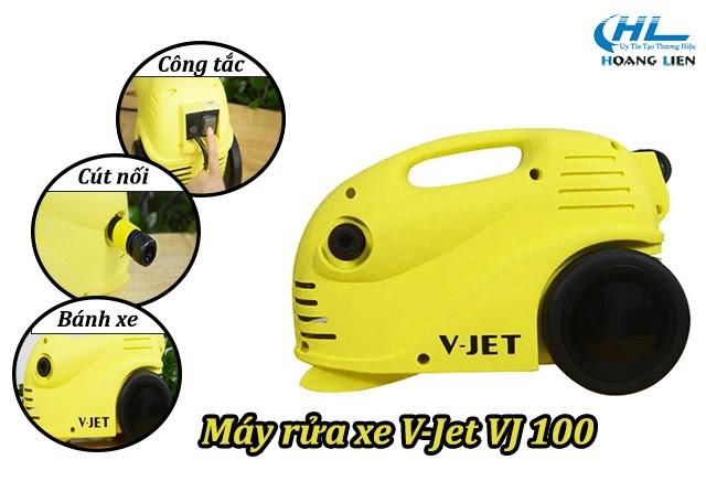 Máy phun rửa xe V-jet VJ 100