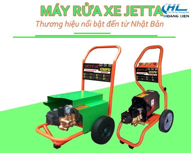 Máy xịt rửa xe thương hiệu Jetta