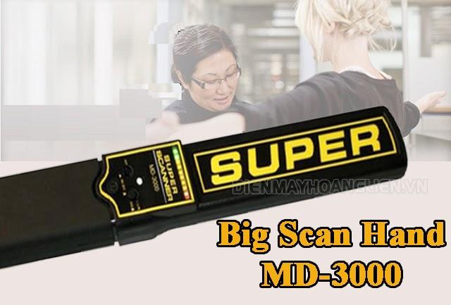 Tay dò kim loại cầm tay Big Scan hand MD-3000
