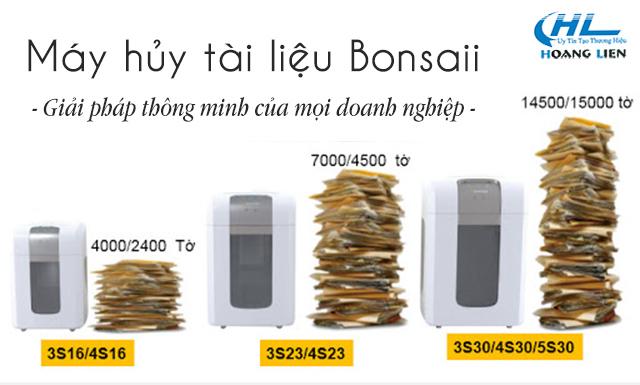 máy hủy giấy Bonsaii