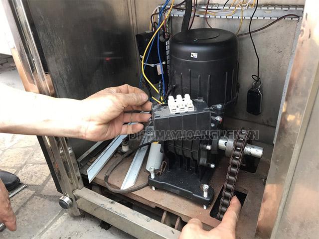 sửa chữa motor cổng xếp