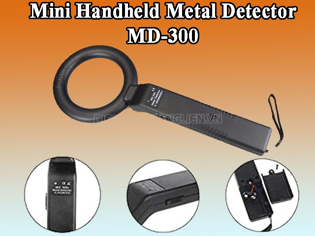 máy dò kim loại Mini Handheld Metal Detector MD-300