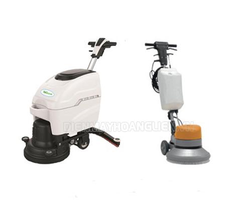 So sánh ưu, nhược điểm giữa máy chà sàn đơn và máy chà sàn liên hợp