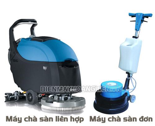 Phân biệt máy chà sàn đơn và máy chà sàn liên hợp