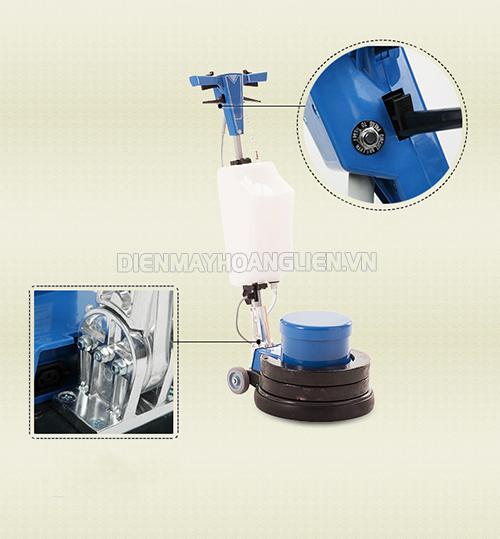 Cấu thành của máy chà sàn liên kết chặt chẽ giúp máy hoạt động ổn định