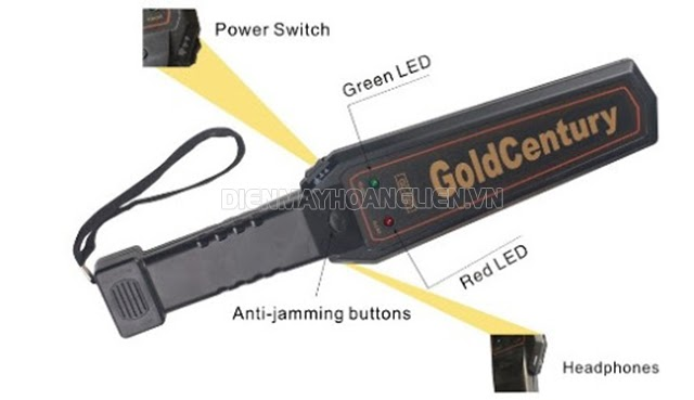 Thiết bị dò kim loại cầm tay Garrett GC 1001