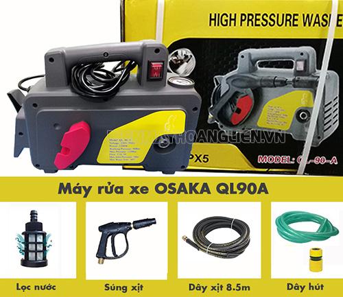 Tìm hiểu về máy rửa xe giá rẻ Osaka 1020