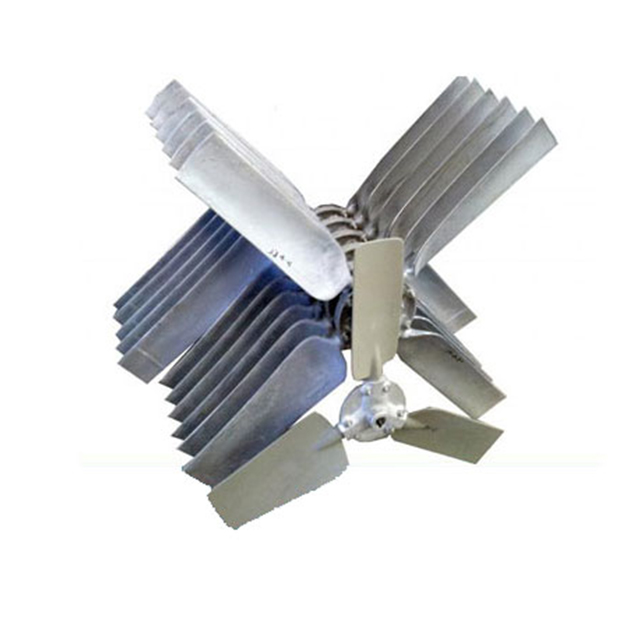 bộ phận cánh quạt của tháp giải nhiệt